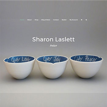 Sharon Laslett Pottery