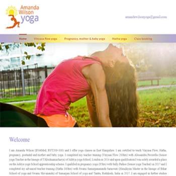 Amanda Wilson Yoga