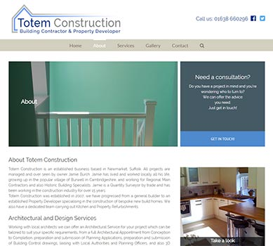 Totem construction