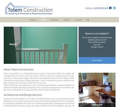 Totem construction